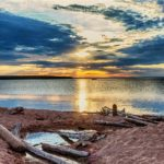 Sunset at Cornucopia Beach ~ Photo courtesy of Loyd Fisher
