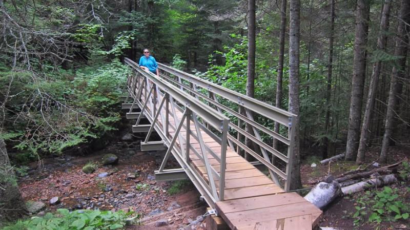 Trail-bridge