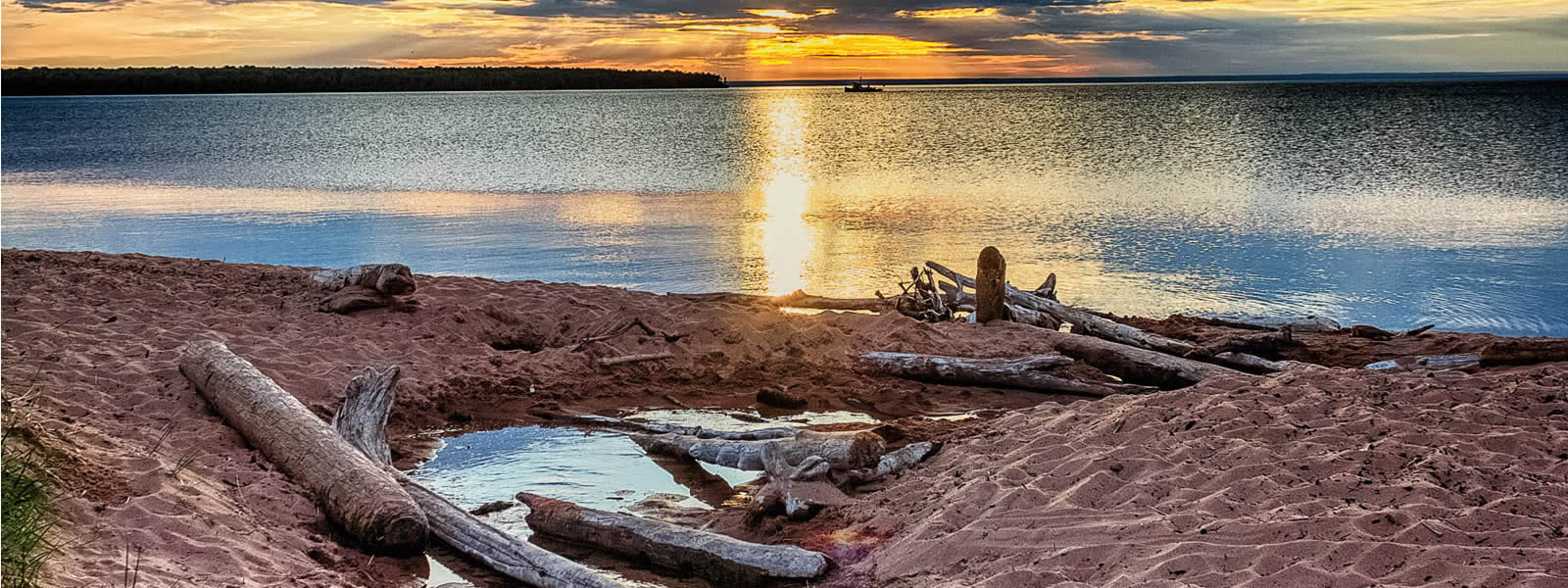 Cornucopia Sunset photo by Loyd Fisher
