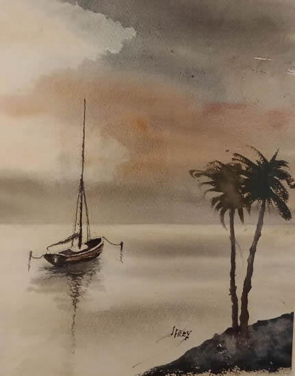 Jerin Frey Sailboat