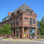 Bayfield County-brownstone building-National Scenic Byway
